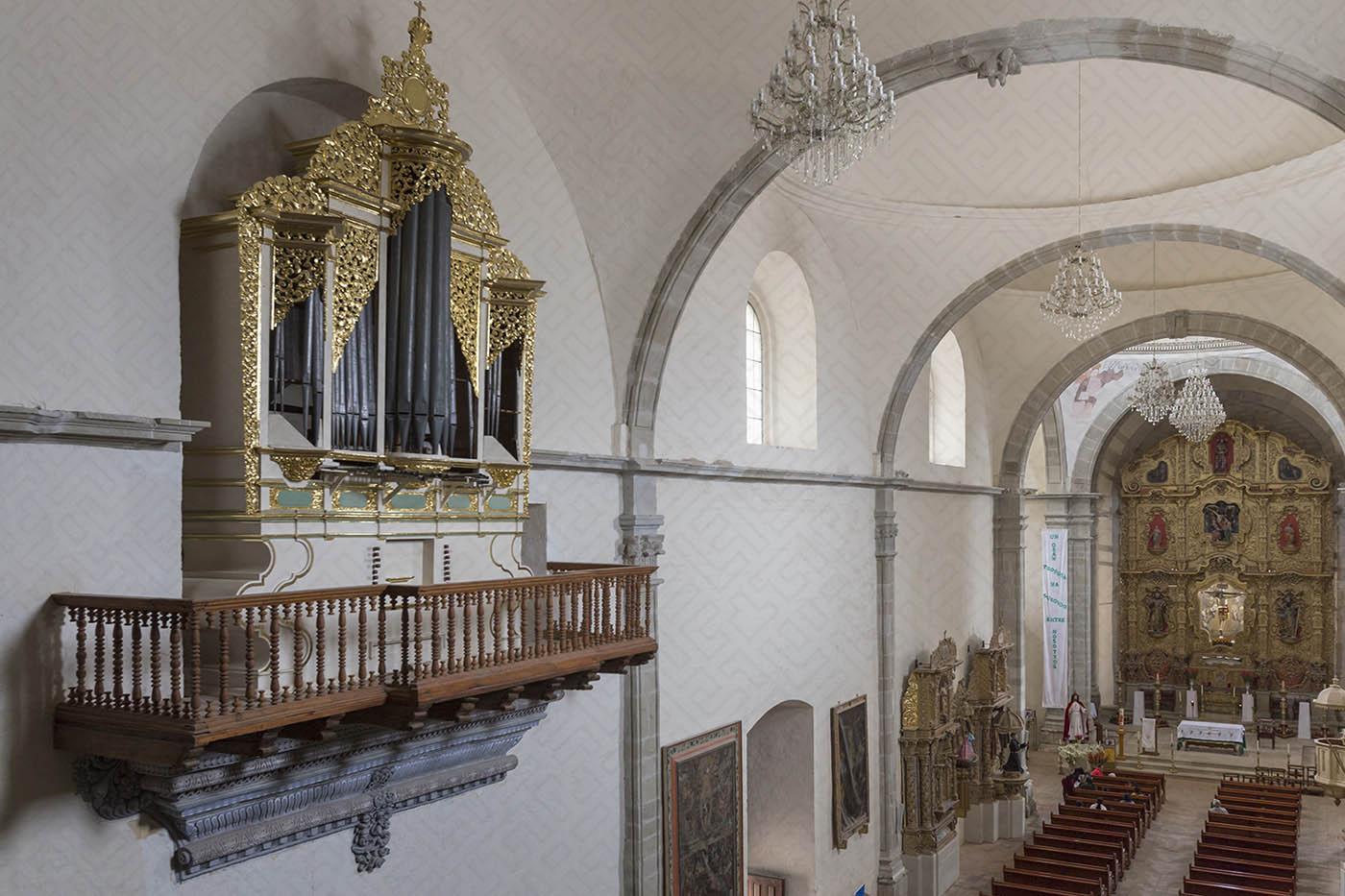 interior del ex convento de San Pedro y San Pablo Teposcolula